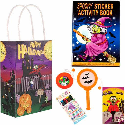 Halloween Party Bag 2 - Box of 100
