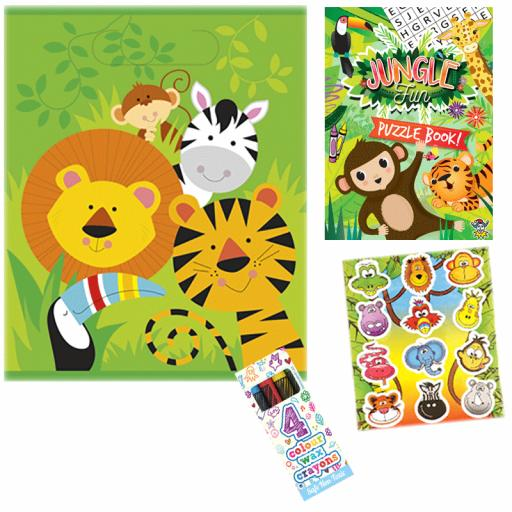 Jungle Party Bag 6 - Box of 100