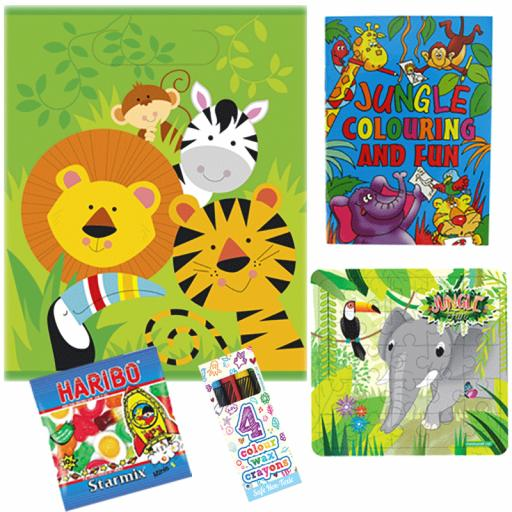 Jungle Party Bag 2 - Box of 100