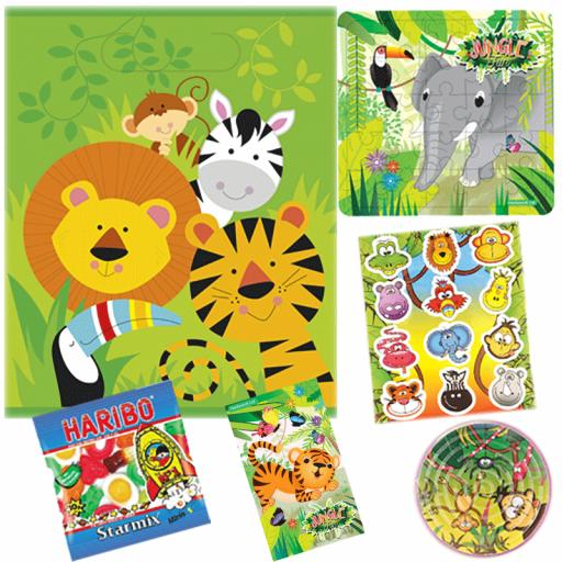 Jungle Party Bag 4 - Box of 100