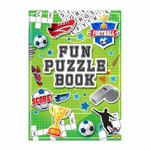 Football Puzzle Fun Book - 16pp - Pack of 48