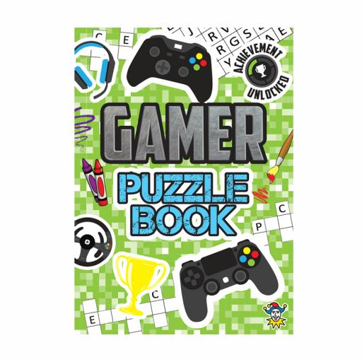 Gamer Puzzle Fun Book - 16pp - Pack of 48