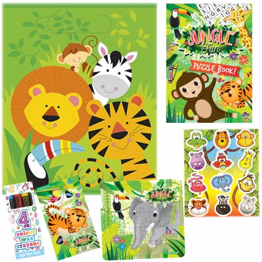 Jungle Party Bag 11 - Box of 100