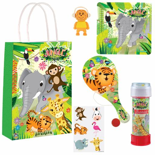Jungle Party Bag 16 - Box of 100