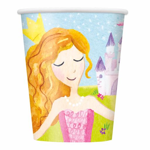 Magical Princess Cups - Pack of 8