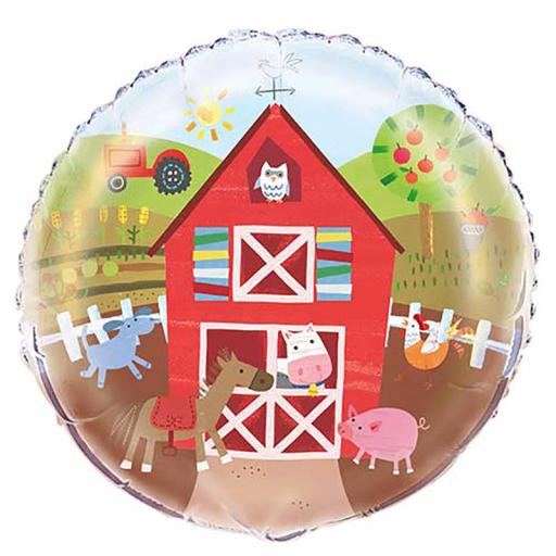 Farm Party Foil Balloon