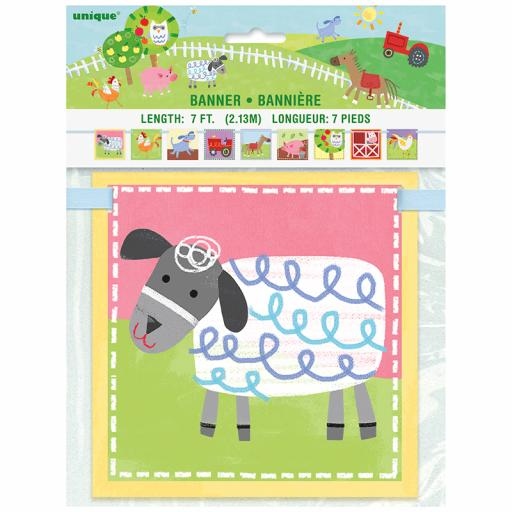 Farm Letter Banner