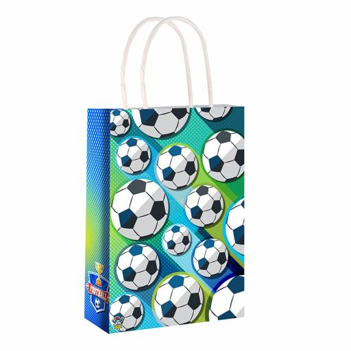 Football Paper Party Bag - Pack of 48