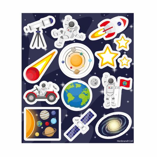 Space Stickers - Box of 120