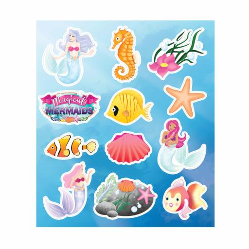 Mermaid Stickers - Pack of 120