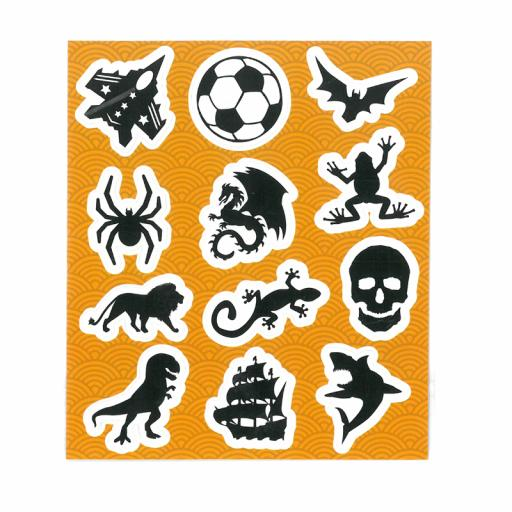 Boys Stickers - Box 120