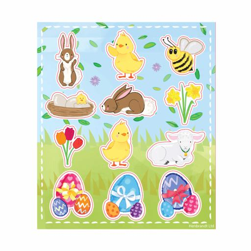 Easter Stickers - Box of 120