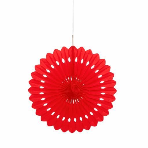 Red Decorative Fan