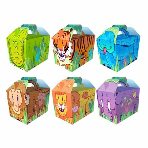 Cartoon Jungle Party Box - Pack of 50