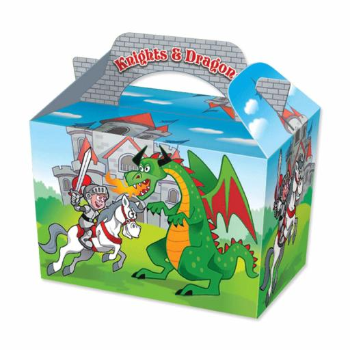 Knights & Dragons Party Box - Pack of 50