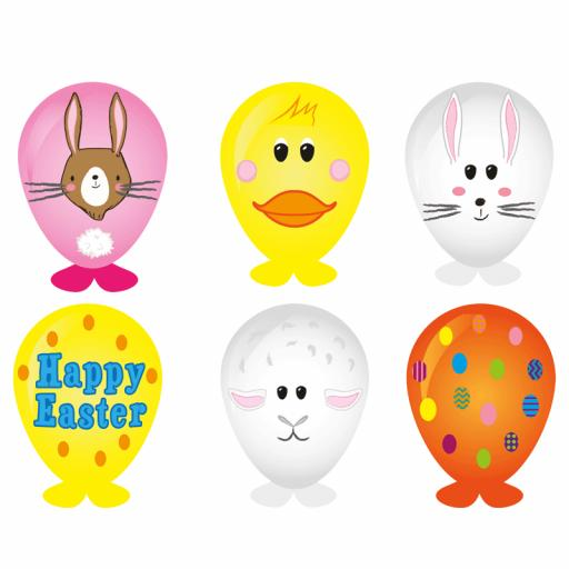 Easter Balloon Head - Box of 240