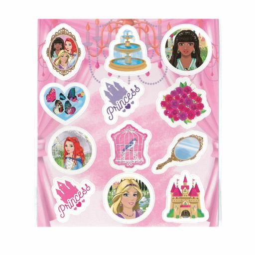 Princess Stickers - Pack of 120
