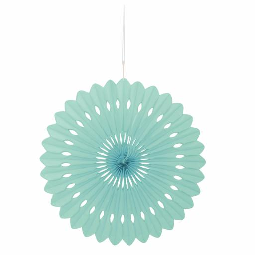 Mint Decorative Fan
