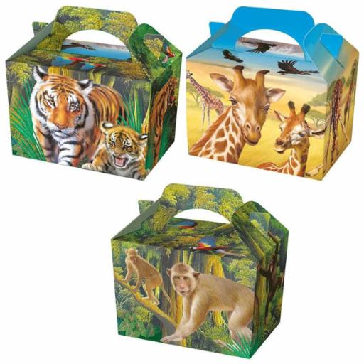 Wild Life Party Box - Pack of 50