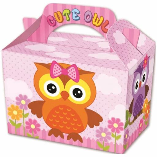 Cute Owl Party Box - Pack of 50