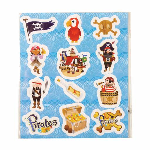 Pirate Stickers - Pack of 120