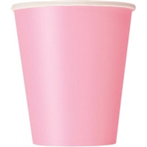 Lovely Pink Paper Cups