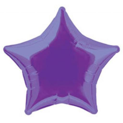 Deep Purple Star Foil