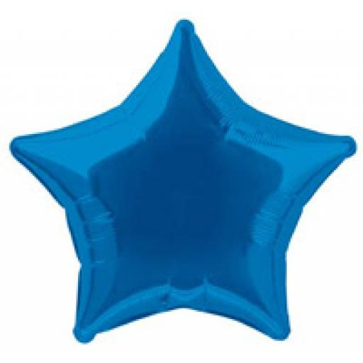 Royal Blue Star Foil