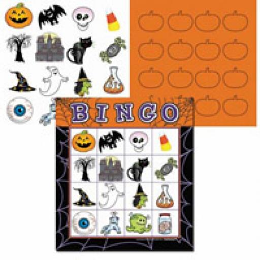 Halloween Batty Bingo Game