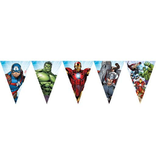 Mighty Avengers Flag Banner