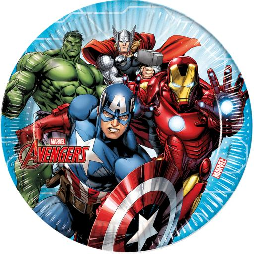 Mighty Avengers Plates