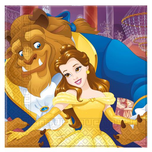 Beauty & The Beast Napkins