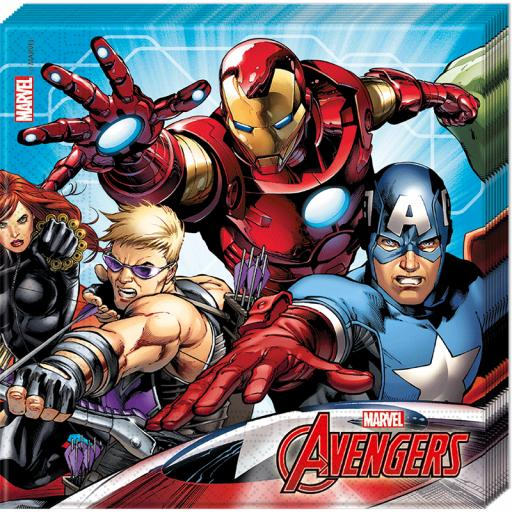 Mighty Avengers Napkins