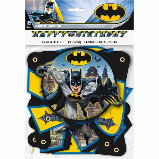 Batman Letter Banner