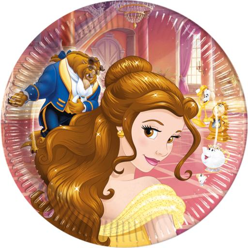 Beauty & The Beast Plates