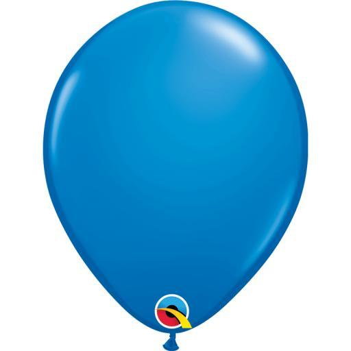 Latex Balloons Dark Blue