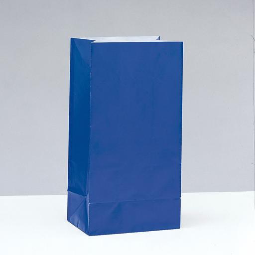 Royal Blue Paper Party Bags
