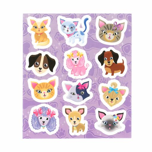Cats & Dogs Stickers - Box of 120