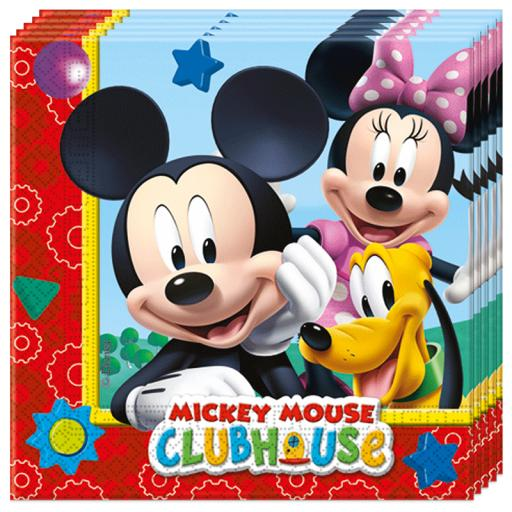 Mickey Clubhouse Playful Napkins