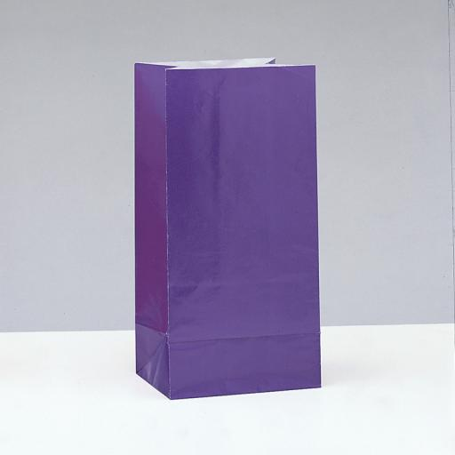 Deep Purple Party Bags