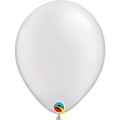 Latex Balloons Pearl White