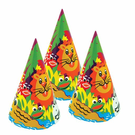 Cone Hat Animals - Pack of 144