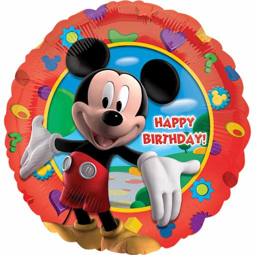 Mickey Clubhouse Foil Balloon