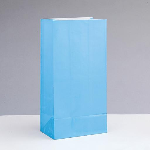 Baby Blue Paper Party Bags