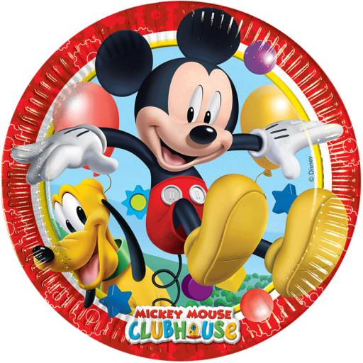 Mickey Clubhouse Playful Plates
