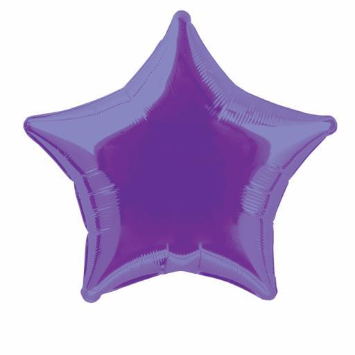 Deep Purple Star Foil