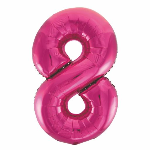 Giant Foil 8 Pink