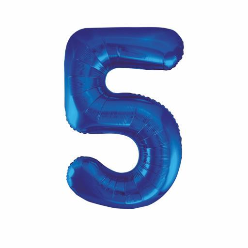 Giant Foil 5 Blue