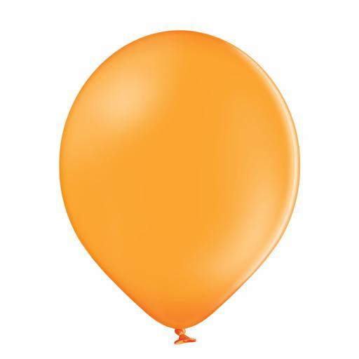 Latex Balloons - Orange - Pack of 100