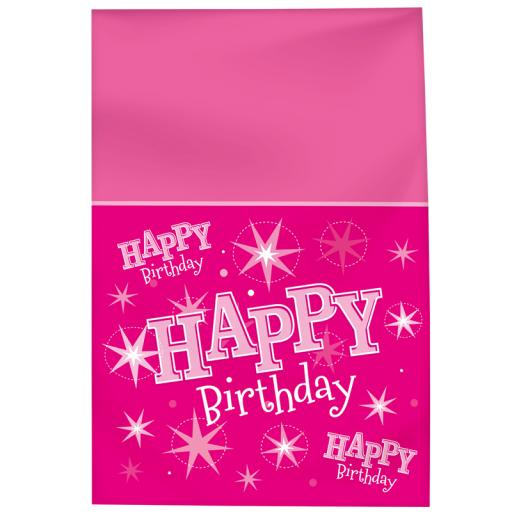 Pink Sparkle Tablecover
